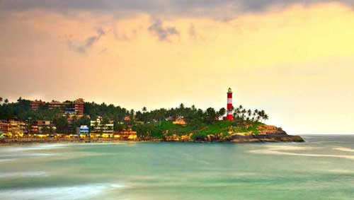 kovalam beach family packages