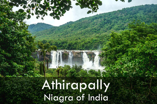 athirapally waterfall tourist destinations in kerala