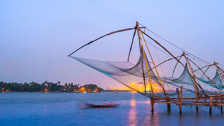 kochi fishing nets kerala tour package